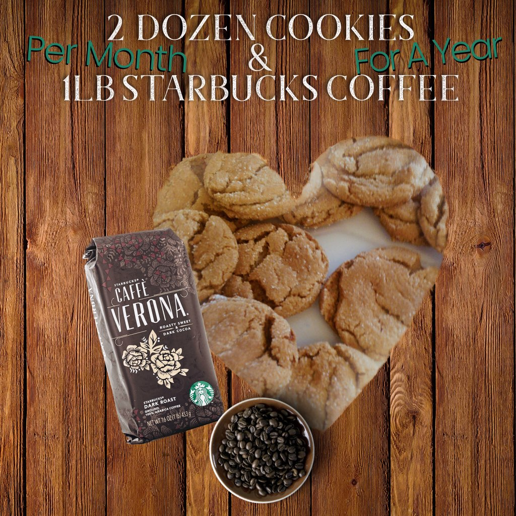 12 Months of Cookies & Coffee